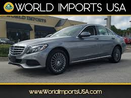 luxury mercedes sedan used 2015 mercedes benz c300 4matic w4 luxury sedan for sale in
