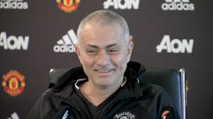 watch man utd boss jose mourinho jokes with reporters about his