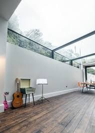 glass roof house modern rev involving a glass roof transforms this dark