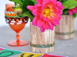 Kwanzaa Decorations How To Make Festive Kwanzaa Corn Husk Vases Hgtv