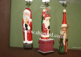 hallmark 2016 rustic santas set of 3 keepsake ornament club koc qxc5111