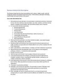 business systems analyst resume keywords 100 images business