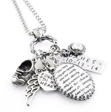 baby personalized jewelry loss of baby personalized necklace baby memorial necklace