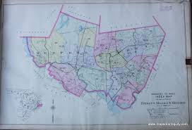 New Orleans Ward Map by Index Map Of Everett Malden Medford Antique Maps And Charts