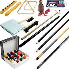 32 Piece Billiards Accessories Kit For Pool Table Walmart Com