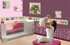 thème chambre bébé fille decoration chambre bebe fille originale