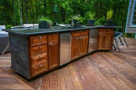 exterior kitchen cabinets outdoor kitchen contemporary patio atlanta by cabinets of