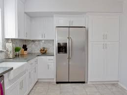 Backsplash In White Kitchen White Kitchen Backsplash Glass Tiles For Backsplash In The