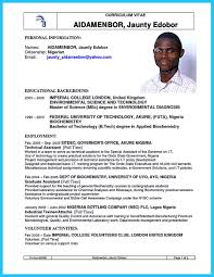 Sample Resume Format For Undergraduate Students by Biotechnology Resume Resume For Your Job Application