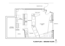 floor plan bar gallery of coffee bar kearny jones haydu 14