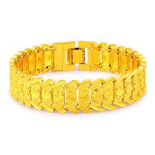 bracelet designs images 2017 statement gold color plated bracelet designs jewelry for men jpg