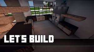 minecraft küche bauen minecraft möbel tutorial modernes wohnzimmer küche haus