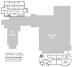 church map christ church charlotte