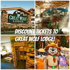 discount tickets to great wolf lodge howl o ween and snowland events