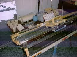 studio 322 knitting machine and ribber