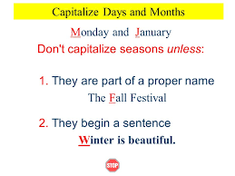 using capital letters ppt video online download