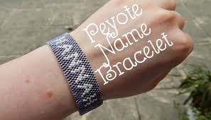 beaded name bracelets diy peyote beaded name bracelet how to pll inspired the corner
