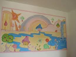 fresque murale chambre fresque murale chambre d enfant photo de créations permanentes