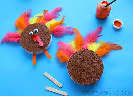 foam turkey craft foam disc turkeys kids thanksgiving craft crafty morning