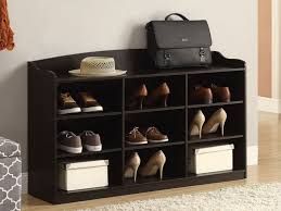 Shoe Storage Bench Mudroom Entryway Coat Cabinet Entryway Cabinet And Bench Front