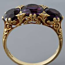 amethyst rings vintage images Fay cullen archives rings antique victorian amethyst ring jpg