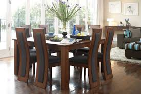 elegant 9 piece dining room table 54 in modern wood dining table