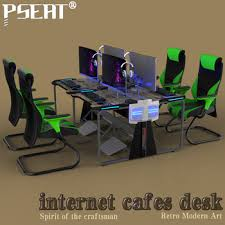 Buy Gaming Desk Pseat Pc Gaming Desk Cafe Computer Table Buy Gaming
