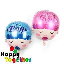 50 balloons delivered happy together manufacturer 59 cm pink baby girl foil