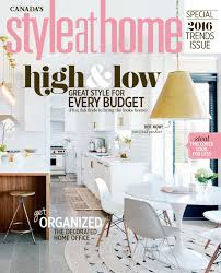 home decor magazines canada top 50 canada interior design home decor magazine canada magazine style at home january 2016 canada read online28 home decor magazine canada falls design design crush