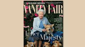 The Queen S Corgis by The Queen Swipes Caitlyn Jenner U0027s Crown As Vf U0027s Oldest Cover