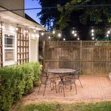 Backyard String Lighting Ideas with Best 25 Patio String Lights Ideas On Pinterest Patio Lighting