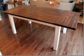 Build A Solid Wood Table Top Local Woodworking Clubs Wooden Table by 40 Diy Farmhouse Table Plans U0026 Ideas For Your Dining Room Free