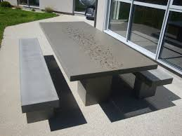 Cement Patio Table Fabulous Concrete Patio Table Cement Patio Table And Benches