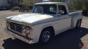 renault pickup truck dodge d 100 short bed stepside pickup truck
