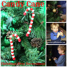 candy cane christmas tree decorations messy little monster