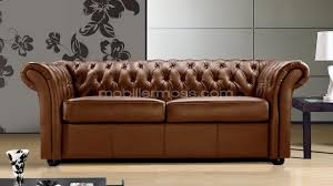 canap lit chesterfield canape lit cuir design 3 places chesterfield malone blanc fonction