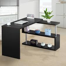 Corner Desk Shelves by Pc Corner Office Computer Desk Desktop Home Workstation Study