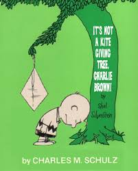 charly brown tree paperback brown it s not a kite giving tree brown