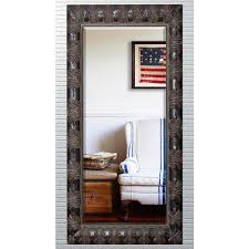 Beveled Floor Mirror by 31 5 In X 65 In Black Superior Beveled Full Body Mirror H012bt