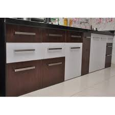 brown and white kitchen cabinets modern pvc kitchen cabinets