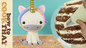 3d cake 3d unicorn cake how to cook that reardon