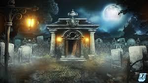 1920x1080 halloween moon moonlight dracula castle tombs crypt