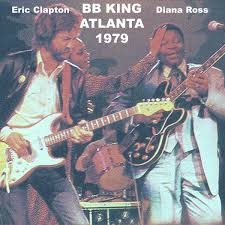 Is Bb King Blind Eric Clapton With B B King And Diana Ross Atlanta 1979