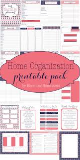 organized home printable menu planner 868 best household home management binder planner ideas resources