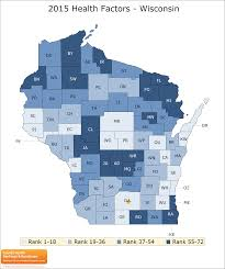 Counties In Wisconsin Map by Wisconsin Rankings Data County Health Rankings U0026 Roadmaps