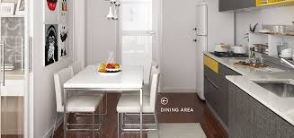 modern style kitchen design op16 m06 10 square meters straight line modern style kitchen design