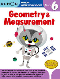 kumon publishing kumon publishing grade 6 geometry u0026 measurement