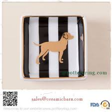 ceramic dog ring holder images Ceramic dog boxed trinket dish jpg