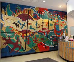 memorial library art memorial library memorial library mosaic mural