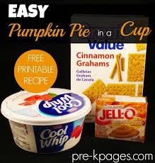 pumpkin pie in a cup easy pumpkin pie pie recipes and pumpkin pies